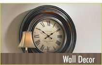 Lots of wall and home decor (Tuscan styles!)