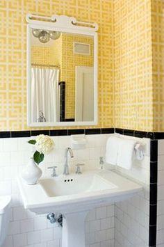 Bathroom on pinterest bathroom remodeling tubs and bathroom for Bathroom designs 1940s