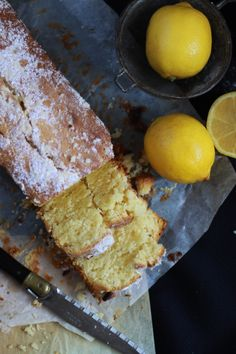 Lemon and mascarpone cake / Cake au citron et au mascarpone