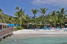 Vintage look at Palomino Island. El Conquistador Resort & Las Casitas Village. Puerto Rico  ElConResort.com