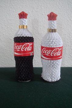 3D Origami – Coca Cola Bottle