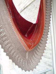 Transition Stashbuster Shawl - free