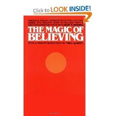 "Belief itself has amazing powers. A must, must read. Did I say ""must""?"