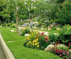 Ideas for front yard gardens