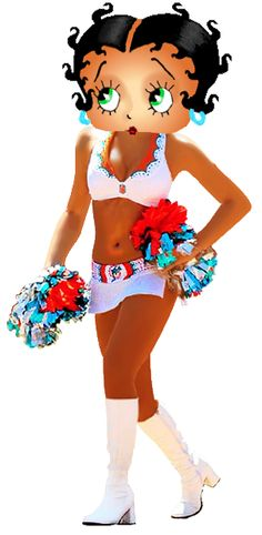 Betty Boop Dolphin Cheerleader photo BettyBoopDolphinCheerleader.png