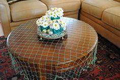 Under the sea theme, put fish net over the tablecloths? I think I saw some at the dollar tree
