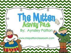 "Jan Brett's ""The Mitten""  Activity Pack!"