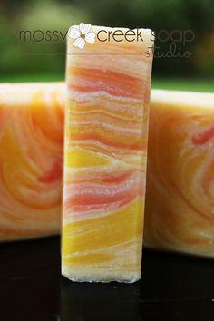 Sunflower Verbena  Handmade Soap Artisan Style