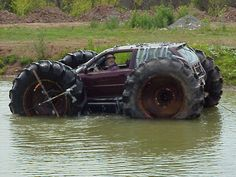 Red Green in a Redneck vehicle.....................Google Image Result for http://www.1stfun.com/wp-content/uploads/2011/04/Funny-Redneck-Vehicles-5.jpg