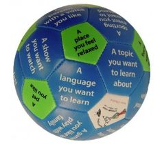 NEW! All About You Thumball; a ball that can be used as an ice breaker, building rapport, group therapy.