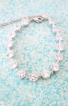 Cadence Wedding Bride Bridal Sparkling Cubic