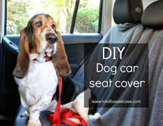 DIY: Dog Car Seat Cover  DIY: Dog Hammock