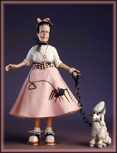 1:12th Miniature Scale ...'Frank's Little Sis'  by Creager Studios
