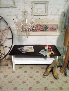 Painted Cottage Chic Shabby Handmade Farmhouse by paintedcottages, $195.00