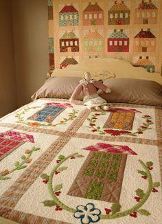 Martingale - Fig Tree Quilts: Houses (Print version + eBook bundle).