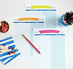 """I Heart Organizing Meal Planning kit is included in the """"Back to School"""" bundle sale.  Only a few more days to purchase this fabulous bundle.  Go to --->  http://www.abowlfulloflemons.net/2014/08/back-to-school-printable-bundle.html to purchase.  <3  #printables #backtoschool #abowlfulloflemons #backtoschoolprintables"""