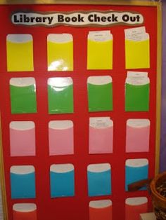 Classroom library check-out system