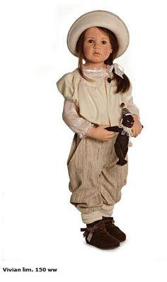 <3 Vivian Hildegard Gunzel 2013 Resin Doll