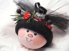 Snowman Ornament  #Christmas #Ornaments #Snowmen