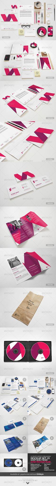 Ultimate Identity / Branding | #stationary #corporate #design #corporatedesign #identity #branding #marketing < repinned by www.BlickeDeeler.de | Take a look at www.LogoGestaltung-Hamburg.de