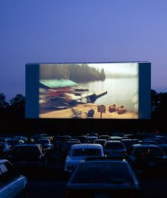 Friday nights at the drive-in