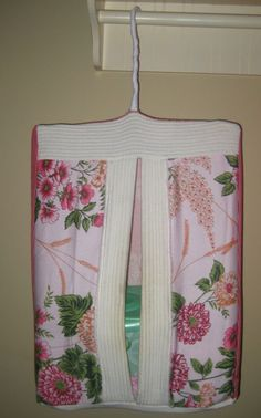 Frugal Crafty Mom: Make Your Own Diaper Stacker