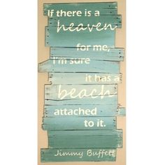 Jimmy Buffett Beach Quote Sign