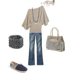 Outfit, created by #shellyontour on #polyvore. #fashion #style