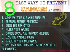8 Easy Ways to Prevent Cancer at Home