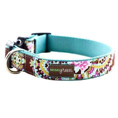 Mimi Green has the cutest dog collars!  I pinned this Designer Dog Collar in Stella Blue from the Mimi Green event at Joss and Main!