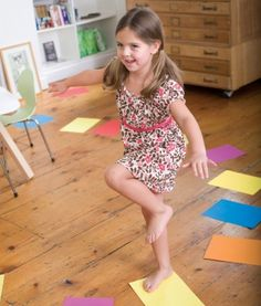 18 get-off-the-couch games. I really like pretty much all of these ideas! Active kids equal happy kids