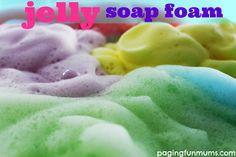 Jelly Soap Foam!