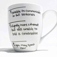 Your favorite mugs communicate your dependence on the substance within. | 33 Signs That Coffee Owns You