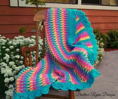Rainbow Dash Baby Blanket 1