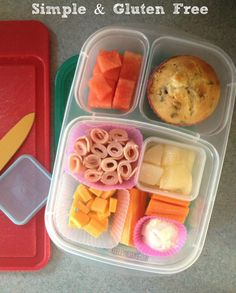 Lunch Made Easy: Five School Lunches, Gluten & Nut Free