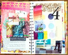 Love this step by step ion how to create an art journal. I have journaled for years but just started attempting an art journal. I am so not and artist(visual) but I love color and images. Jump in and try it.