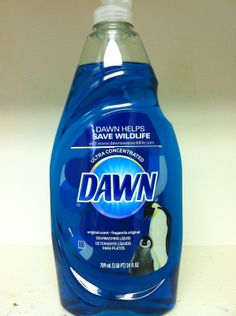 De-Icer      For icy steps and sidewalks in freezing temperatures, mix 1 teaspoon of Dawn dishwashing liquid, 1 tablespoon of rubbing alcohol, and 1/2 gallon hot/warm water and pour over walkways. They won't refreeze. No more salt eating at the concrete in your sidewalks - 20 USES FOR ORIGINAL BLUE DAWN LIQUID!!!