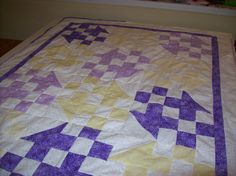 Here is another shot of that quilt