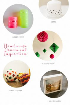 5 DIY ornament ideas