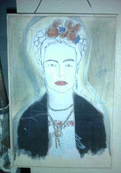 Frida Kahlo wall