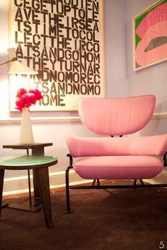 Mid Century Furniture - PINK!