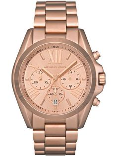 Michael Kors rose gold Bradshaw #watch #jewelry