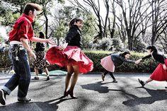 Rockabilly in Yoyogi Park, Japan