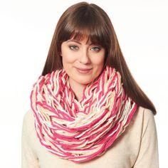 Yarn on pinterest afghan crochet ruffle scarf and scarf for Bernat t shirt yarn
