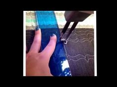 Machine quilting - YouTube