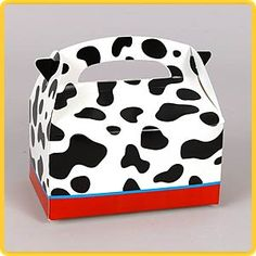 buy a box and paint cow spots