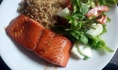 """Salmon Teriyaki - """"Very tasty way to make salmon. Perfect portion of seasonings and time to cook. Will make more often!"""" @allthecooks #recipe"""