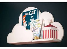 DIY Cloud Shelves  #projectnursery