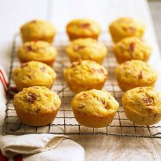 Combine peach and prosciutto in these yummy cornmeal muffins: http://www.bhg.com/recipes/breakfast/easy/make-ahead-breakfast/?socsrc=bhgpin071814peachprosciuttocornmealmuffins&page=7
