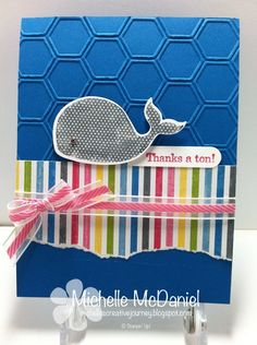 Oh Whale Stamp Set - new from Stampin' Up Spring Catalog